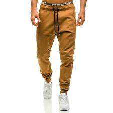 Men Trousers Military Casual Joggers Cotton Cargo Elastic Legging Strench Pants