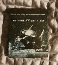 The Dark Knight Rises (Blu-ray/DVD, 2012, UltraViolet Steelbook)