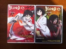 BLOOD C VOL 1 & 2 - 2 DVD CAPITULOS 1 A 8 - SELECTA VISION - 200 MINUTOS - CLAMP