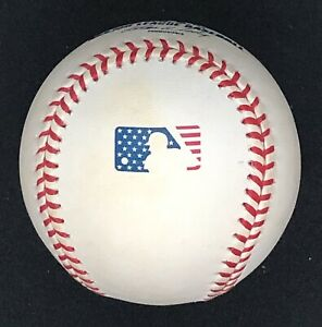 Rawlings Official 2001 4th of July American Flag Baseball Ball MLB League HTF!