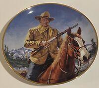 John Wayne~High Country~Franklin Mint~Decorative Plate~Cowboy~Limited Edition