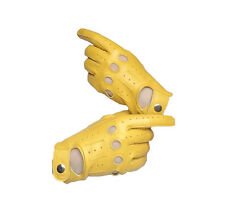 WOMENS REAL SOFT GOATSKIN LEATHER DRIVING GLOVES