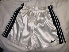 Nike Nylon Satin Soccer Shorts Mens Medium Shiny Silky Rare Amazing!!