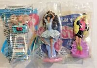 Mcdonald's Toys My First Ballerina & Rappin Rockin & Eatin Fun Kelly BARBIE 1991