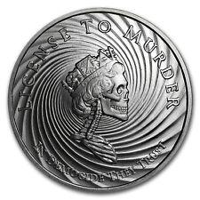 2017 1 oz Silver Shield Round - MiniMintage (Democide)