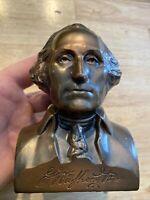 George Washington Mutual Piggy Bank Banthrico Vintage Savings Bank NO KEY NR