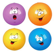 "SILLY FACE 16"" BEACH BALLS BEACHBALL BALL POOL PARTY OTHER QUANTITIES AVAILABLE"