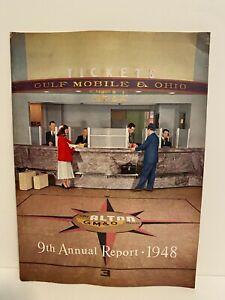 Gulf Mobile & Ohio GM&O Annual Report December 31, 1948