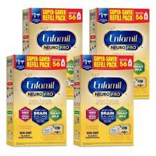 Enfamil NeuroPro Baby Formula Milk Powder Refill, 31.4 Oz 4pk Expires 7/01/2022