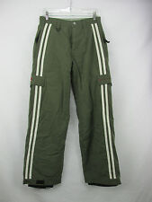 Cold As Ice Green Ski Snowboard Pants Full Mesh Lined Women's Med.  FR25