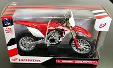 NewRay Honda CRF450R Dirt Bike 1:12 Red