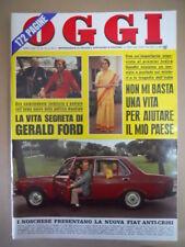 OGGI n°44 1974 Luigi Bennati Indira Gandhi Albano e Romina Power [G775]