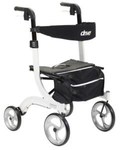Drive Walkers Nitro Basket Winnie Platform Euro Style Scooter Chair Rollator