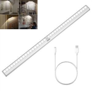 36LED removable sensor under cabinet closet bar wireless night light strip light