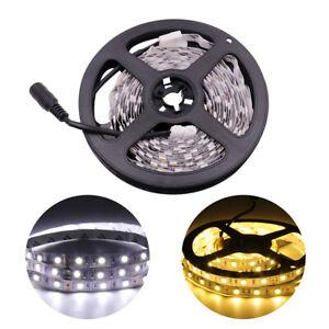 LED Strip Lights 5050 Warm/White Under Cabinet Kitchen Lighting Self-adhesive UK