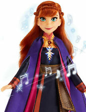 """Disney Frozen ll ANNA Sings """"The Next Right Thing"""" Light-up 11"""" Doll NEW Hasbro"""