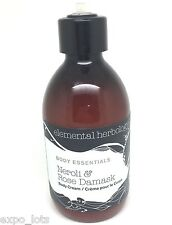 Elemental Herbology Essentials Neroli Rose Damask Body Cream 8.1 oz *SEE DETAILS
