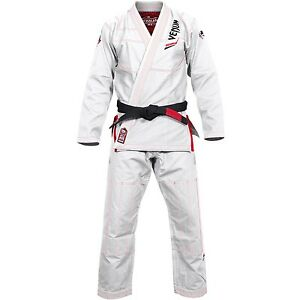 Venum BJJ-Gi Elite light weiß, 02805 - BJJ Kimono - Brazilian Jiu-Jitsu Anzug