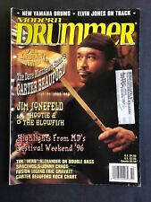 Modern Drummer Magazine October 1996 Carter Beauford