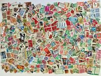 NICE LOT of 1000 Used STAMPS, Europe & Worldwide, FREE SHIPPING!