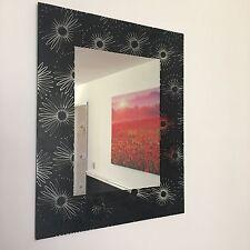 SPECCHIO Parete Floreale Nero Bagno Mensola Specchio ragazze camera comò specchio parete