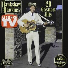 Hawkshaw Hawkins - 20 Greatest Hits [New CD]