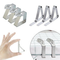 Wedding Home Party Stainless Steel Tablecloth Table Cover Holder Clips Clamps