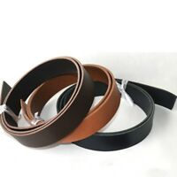 2X Connection Belt Strap Cowhide Buckle Blank Strip Leather Repair Replacement