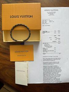Louis Vuitton Leder Armband, NEU