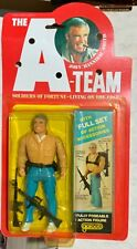 """1983 Galoob The A-Team John """"Hannibal� Smith Figure In Package George Peppard"""