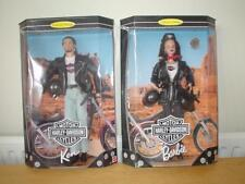 BARBIE & KEN HARLEY DAVIDSON Collectors Limited Edition Doll Dolls MATTEL NRFB