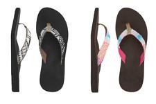 Reef MIDDAY TIDES Womens Sandals - Genuine Ladies Flip Flops Patterned Woven