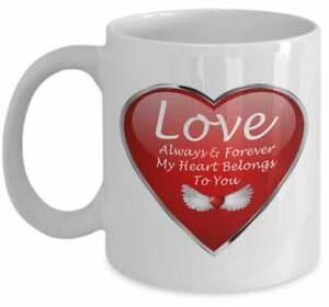 Love Mug Romantic Mug Love Coffee Mug Romantic Coffee Mug I Love You Mug Heart
