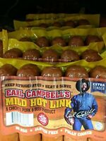 Earl Campbell's Mild Hot Link Sausage 14 Oz (4 Pack)