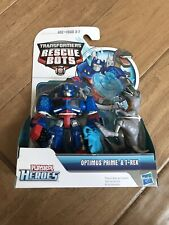 Transformers Rescue Bots Optimus Prime And T Rex