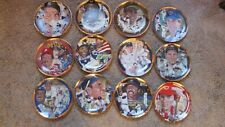 Hamilton Collection Ltd Edition Baseball Collector Plates Lot of 12 Non-Smoking
