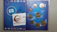 2002 FINLANDIA 8 monete 3,88 EURO finnland finlande suomi finland Финляндия