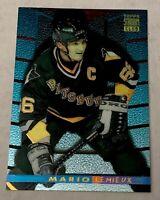 1994-95 Stadium Club Finest Inserts #1 Mario Lemieux Pittsburgh Penguins NHL HOF