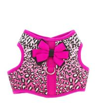 Top Paw Pink Leopard Print Harness for XXSmall Dogs