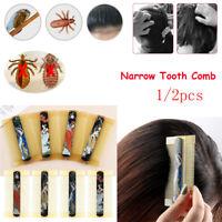 Brosse de beauté Outil de coiffure Peigne à dents étroites Peigne à poux