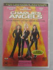 Charlie's Angels DVD Region 4 Cameron Diaz Drew Barrymore Lucy Liu
