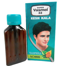 100ml NEW Super Vasmol 33 Naturaly Black Kesh Kala Hair Color Liquid Dye USA SLR