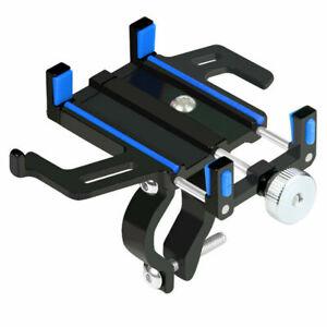 Aluminum Alloy Motorcycle Bike Bicycle MTB Handlebar Cell Phone GPS Holder Mount
