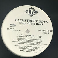 Backstreet Boys Shape Of My Heart Vinyl Record Original 2000 Promo Remix 12""