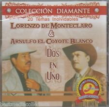 SEALED - Lorenzo De Monteclaro y Arnulfo Coyote Blanco CD NEW Dos En 1 BRAND NEW