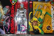 1/6 Round 2 Capt Captain Action Deluxe Dr Evil +LOKI uniform w Hawkeye Parts LOT