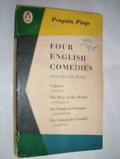 J M MORRELL.FOUR ENGLISH COMEDIES.PENGUIN 1959