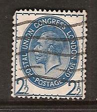 Great Britain # 208 Used 1929 Postal Union Congress