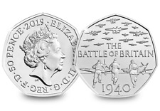 BATTLE OF BRITAIN  5TH PORTRAIT RARE FIFTY PENCE 2015 50P COIN  UNCIRCULATED
