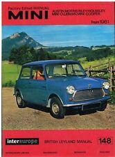 AUSTIN MORRIS MINI ( INCL COOPER 1275GT VAN PICK-UP MOKE ) 1959-71 REPAIR MANUAL